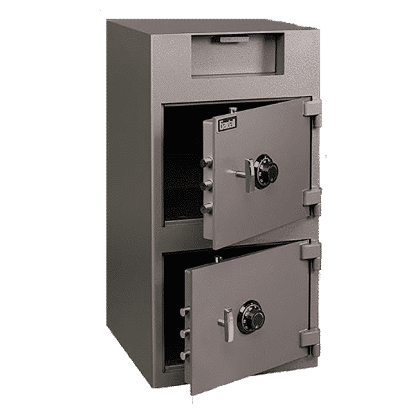 Gardall DS3920-G-CC | Double Door Depository with Combination Lock