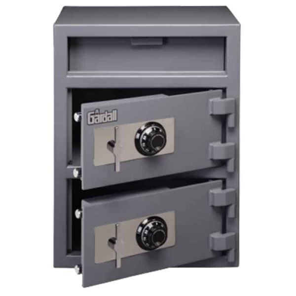 Gardall LCF3214 | Double Door Depository Safe with Electronic or Mechanical Lock