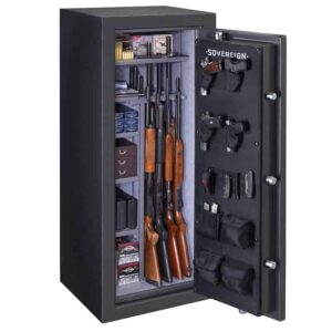 Sovereign | 22 Gun Fire Resistant Safe with Electronic Lock
