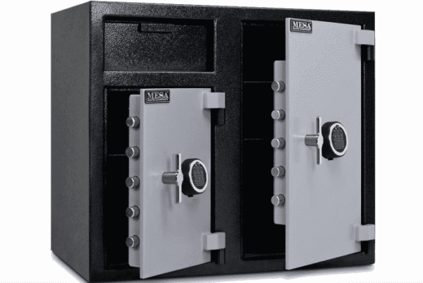 double door safe box