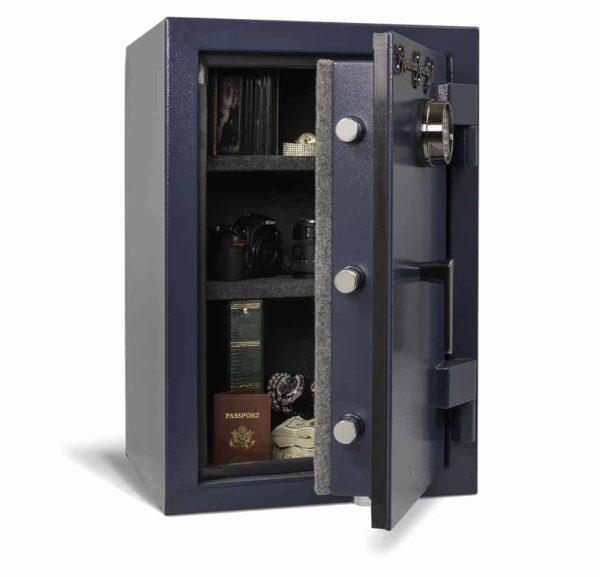 AMSEC AM3020E5 Home Security Safe, Family Model open props