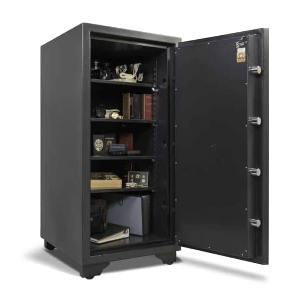 AMSEC CSC4520 C-Rated Burglary & Fireproof Safe full open props