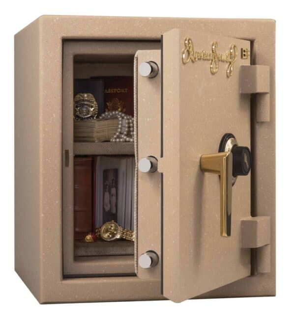AMSEC BF1512 B-Rated Burglary & Fire Safe, Small open props