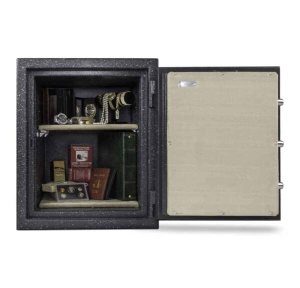 Opened with items | BF2116 AMSEC Safe