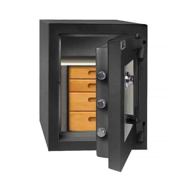 AMSEC AmVault CF2518 Fire-Rated Composite Burglary Safe open