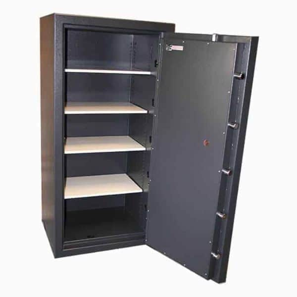 AMSEC AmVault CF6528 Fireproof Protection Safe full open empty