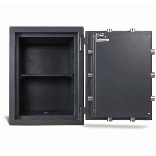 AMSEC MAX2518 Fireproof Protection Safe full open empty front