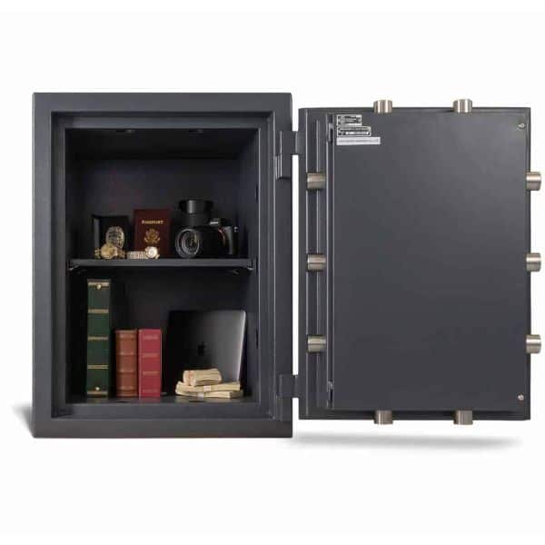 AMSEC MAX2518 Fireproof Protection Safe full open props front