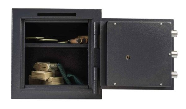 AMSEC MS1414C B-Rated Burglary Safe full open props front