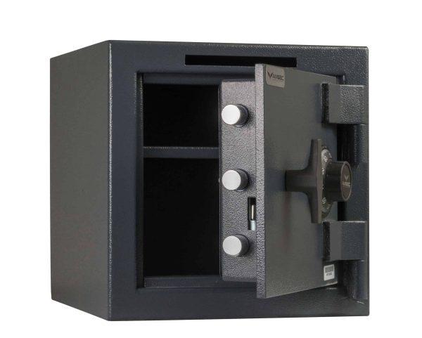 AMSEC MS1414C B-Rated Burglary Safe open props