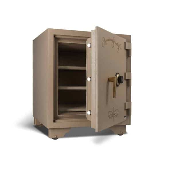 AMSEC UL2018 Two-Hour Fireproof Home Security Safe open