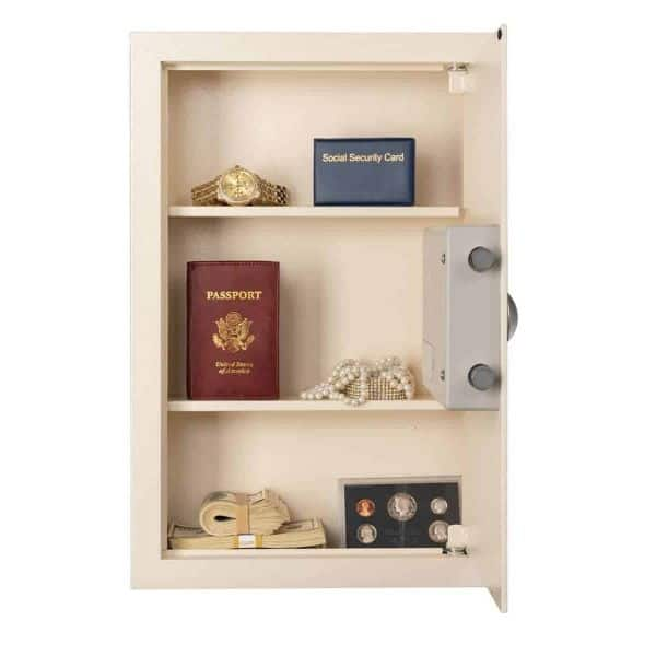 AMSEC WEST2114 Wall Safe Open Front Props