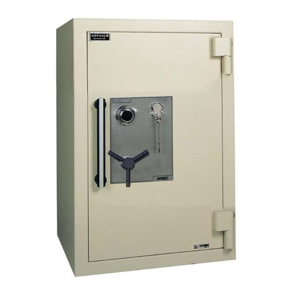 AMSEC AmVault CE3524 UL-Certified TL-15 Burglary & Two-Hour Fireproof Protection Safe Beige Color