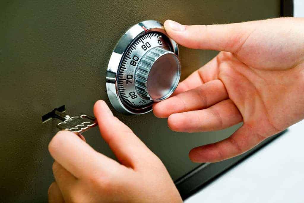Customer opening combo lock