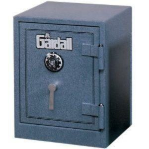 Gardall 1612-2 Gardall Two Hour Fire & Burglary Safe with Electronic Lock, Gray