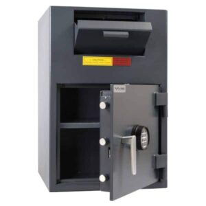 AMSEC BWB2020FLN B-Rated Wide Body Deposit Safe open empty