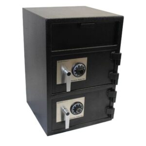 Hayman CV-F30W-2-CC Front Loading Double Door Depository Safe