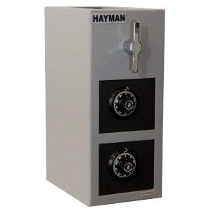 Hayman CV-H19-2 CC Cash Vault Top Load Depository Safe-Double Door