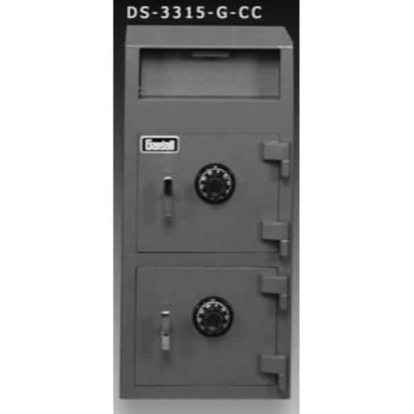 Gardall DS3315-G-CC Economical Depository Safe with Combo Lock