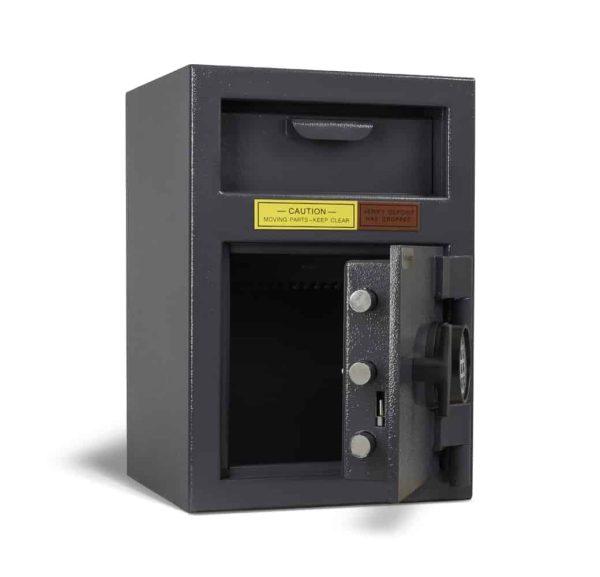 AMSEC DSF2714K Deposit Safes open empty