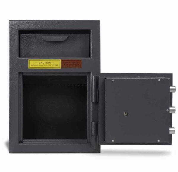 AMSEC DSF2714K Deposit Safes full open front empty