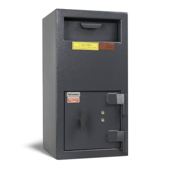 AMSEC DSF2714K Front Loading Deposit Safes with Key-Operated Lock