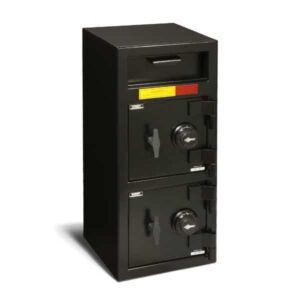AMSEC DSF3214CC Double Door Front Loading Deposit Safes