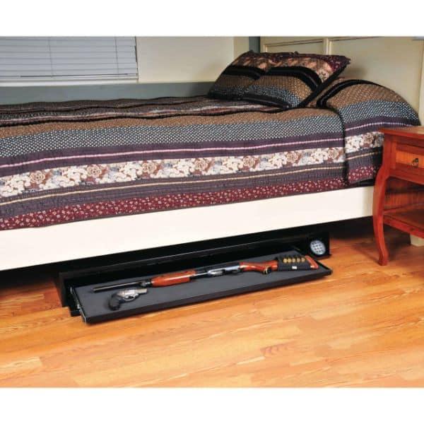 Defence Vault open gun props under bedroom