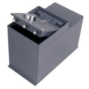 Gardall G3600-G-C Commercial In-Floor Safes with Mechanical Lock open