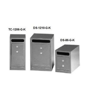 Gardall TC1206K Under Counter Depositories with Key-Operated Lock
