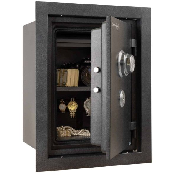AMSEC WFS149 Wall Safe Open Props