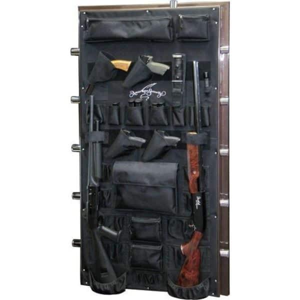 AMSEC BF6030 120-Minute Fire Gun Safes open door props and accessories