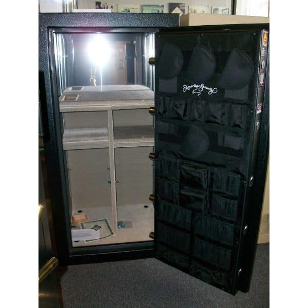 AMSEC BF6030 120-Minute Fire Gun Safes open empty front
