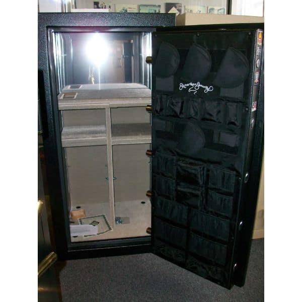 AMSEC BF6032 120-Minute Fire Gun Safes full open empty front
