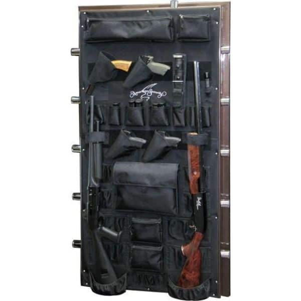 AMSEC BF6636 120-Minute Fire Gun Safes door props
