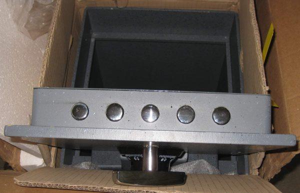 Gardall B1311-G-C Commercial In-Floor Safe in cardboard box