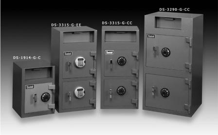 Gardall DS1914-G-C Economical Depository Safe with three other product